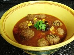Fiesta Meatball Stew